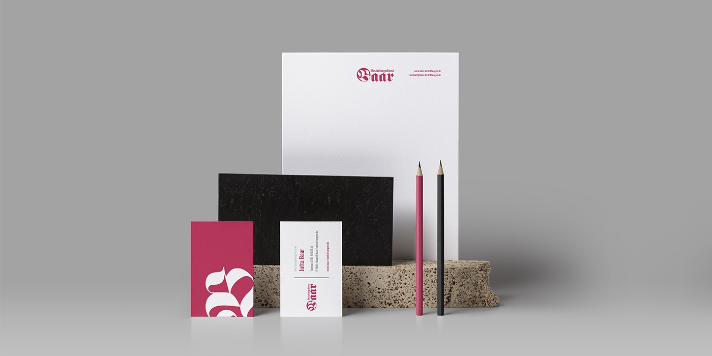 Corporate Design in Ulm-Baar Bestattungen - Kundenprojekt NPG digital