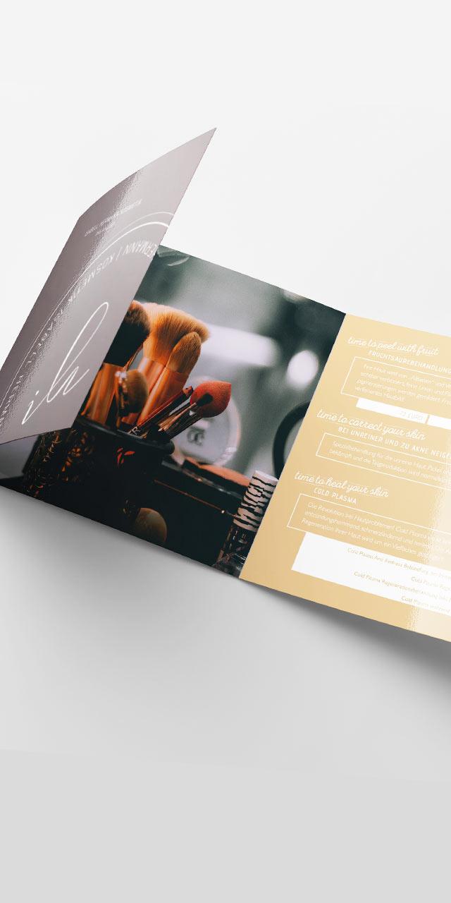 Flyergestaltung- Corporate Design Agentur  in Ulm
