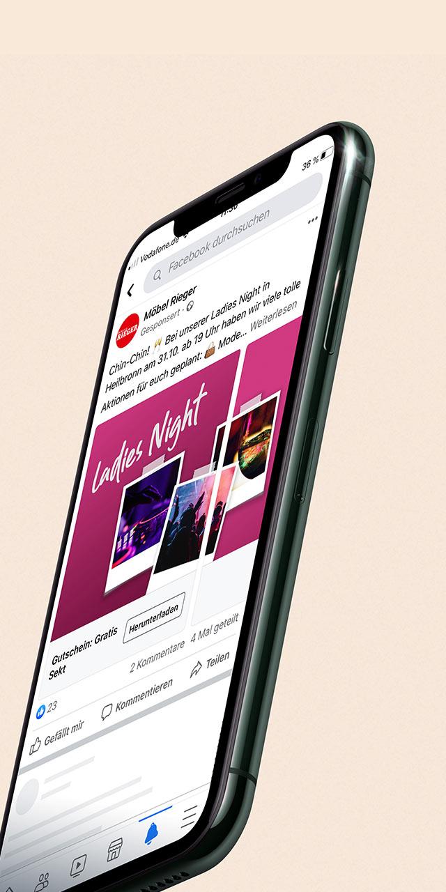 Referenz Facebook Werbung-  NPG digital GmbH- Agentur Ulm