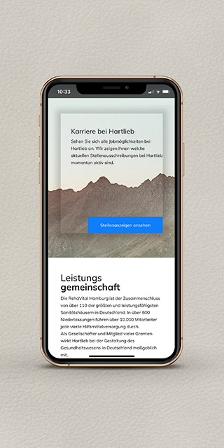 Hartlieb Relaunch Website _ Referenz NPG digital