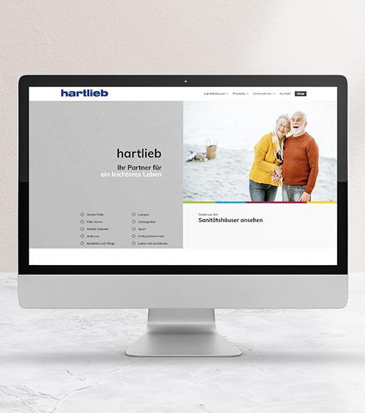 Hartlieb-Webdesign- Projekte der NPG digital  - unsere Referenzen