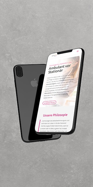 Webdesign für mobile Endgeräte bei NPG digital in Ulm