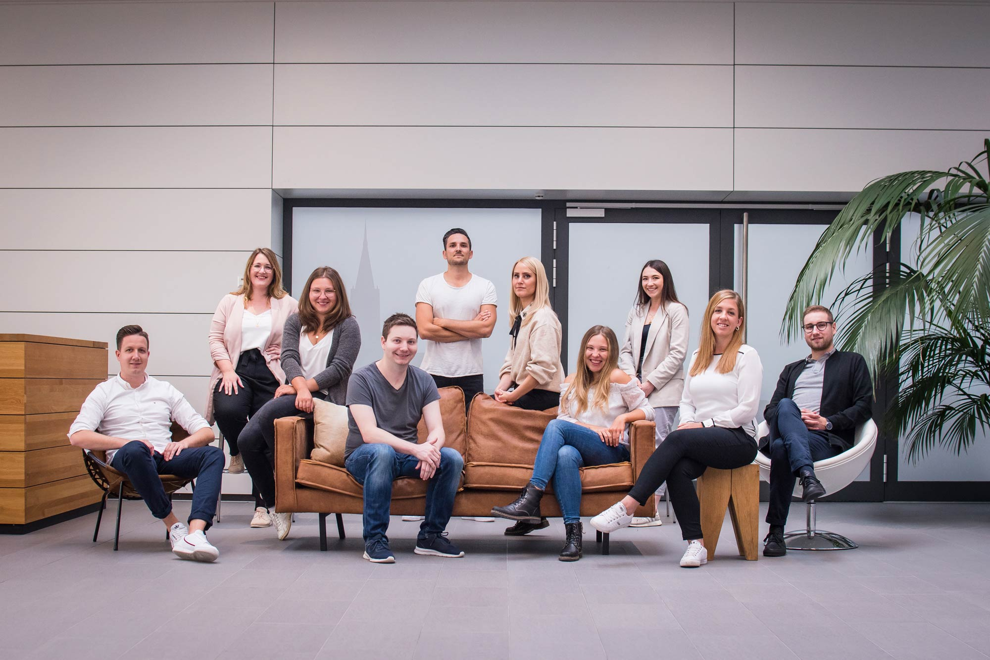 Das Team der NPG digital - Online Marketing Agentur in Ulm