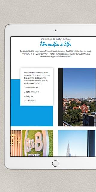 Buchungsanfragen durch Online-Kampagne  generieren-NPG digital-Referenz