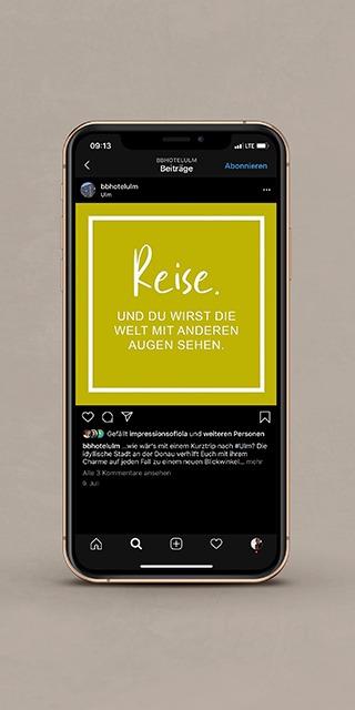 Das Ulmer B&B Hotel - Social Media Werbung-NPG digital