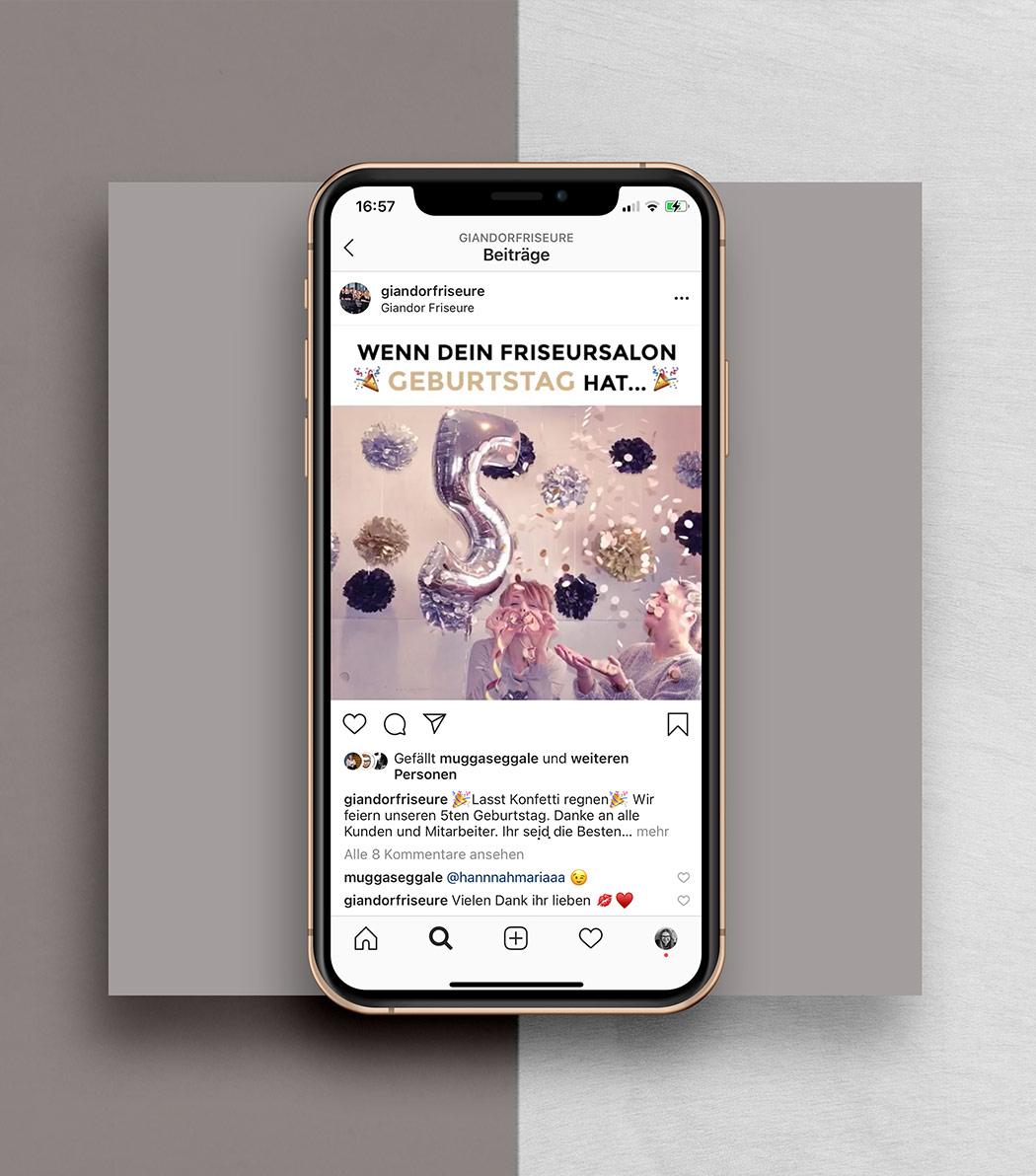 Instagram Marketing bei NPG digital-Kundenkampagne